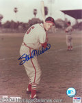 Autographs, Stan Musial Signed 8 x 10 Photo PSA/DNA