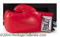 Autographs, Ken Norton Signed Boxing Glove