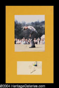 Autographs, Arnold Palmer Signed First Day Cover