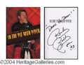Autographs, Roddy Piper In-Person Signed Book