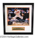 Autographs, Cal Ripken Jr. Signed Framed 11 x 14 Photo