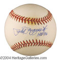 Autographs, Phil Rizzuto HOF Signed Baseball