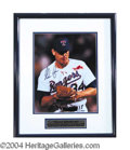 Autographs, Nolan Ryan Signed Framed 11 x 14 Photo