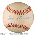 Autographs, Joe Sewell HOF Signed Baseball