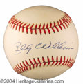 Autographs, Billy Williams HOF Signed Baseball
