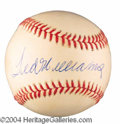 Autographs, Ted Williams Beautiful Signed Baseball PSA/DNA