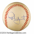 Autographs, Robin Yount Signed Baseball