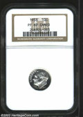Proof Roosevelt Dimes: , 1958 PR 69 Cameo NGC. ...
