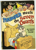 Golden Age (1938-1955):Cartoon Character, Four Color #19 Thumper Meets the Seven Dwarfs (Dell, 1943)Condition: FN-....
