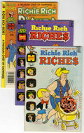 Bronze Age (1970-1979):Humor, Richie Rich Riches File Copies Group (Harvey, 1972-81) Condition:Average VF/NM.... (Total: 7 Comic Books)