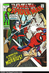 Amazing Spider-Man #101 (Marvel, 1971) Condition: FN+. First appearance of Morbius. Overstreet 2003 FN 6.0 value = $45...