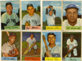 Baseball Cards:Sets, 1954 Bowman Baseball Complete Set (224).Offered is a collector grade 1954 Bowman Baseball complete set of 224 cards with 29 ...
