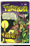 Golden Age (1938-1955):Horror, Beware Terror Tales #2 (Fawcett, 1952) Condition: VG. Bernard Bailycover. Ross Andru, Bob Powell, and Mike Sekowsky art. Ov...