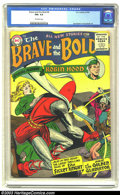 Silver Age (1956-1969):Adventure, The Brave and the Bold #6 (DC, 1956) CGC FN+ 6.5 Off-white pages. Features Robin Hood, Silent Knight, and Golden Gladiator. ...