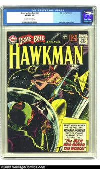 The Brave and the Bold #44 Hawkman (DC, 1962) CGC VF/NM 9.0 Cream to off-white pages. Joe Kubert turns in some nice art...