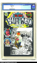 Modern Age (1980-Present):Alternative/Underground, Bum Wad #1 (Yahoo Productions, 1971) CGC NM- 9.2 White pages. Whenit comes to Undergrounds, there have been lots of great t...