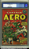 Golden Age (1938-1955):Superhero, Captain Aero Comics #8 (Holyoke Publications, 1942) CGC FN 6.0 Cream to off-white pages. Overstreet 2002 FN 6.0 value = $231...