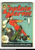 Golden Age (1938-1955):Science Fiction, Captain Marvel Adventures #55 (Fawcett, 1946) Condition: FN.Captain Marvel visits Columbus, Ohio. Overstreet 2003 FN 6.0 va...