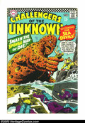 Silver Age (1956-1969):Adventure, Challengers of the Unknown Group (DC, 1966-1968) Condition: Average VG. This lot consists of #51-54, 56-60. Overstreet 2003 ... (Total: 9 Item)
