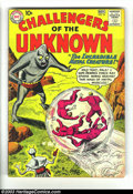 Silver Age (1956-1969):Adventure, Challengers of the Unknown Group (DC, 1960-1962) Condition: Average VG-. This lot consists of #16, 17, 22, and 23. Overstree... (Total: 4 Item)