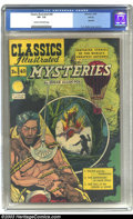 Golden Age (1938-1955):Classics Illustrated, Classics Illustrated #40 Poe Mysteries (Gilberton, 1947) CGC VF-7.5 Cream to off-white pages. HRN 62, which is the second p...