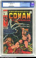 Bronze Age (1970-1979):Superhero, Conan The Barbarian #4 (Marvel, 1971) CGC NM- 9.2 Off-white to white pages. Barry Windsor-Smith cover and art. Overstreet 20...