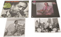 Music Memorabilia:Autographs and Signed Items, Buddy Tate Signed Record and Photo Group. Saxophonist Buddy Tatelearned his craft playing with territory bands around the A...(Total: 4 )