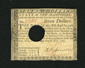 Colonial Notes:New Hampshire, New Hampshire April 29, 1780 $7 About New. This is a broadlymargined and very attractive example from this popular colony t...
