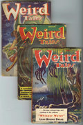Pulps:Horror, Weird Tales Group (Popular Fiction, 1952-53) Condition: AverageVG.... (Total: 9)