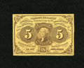 Fractional Currency:First Issue, Fr. 1230 5c First Issue Choice New. A bright and well margined example of this first issue type note that has great eye appe...