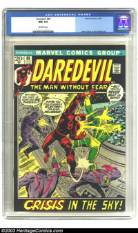 Daredevil #89 (Marvel, 1972) CGC NM 9.4 Off-white pages. Gene Colan and Tom Palmer art. Overstreet 2003 NM 9.4 value = $...