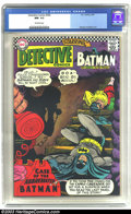 Silver Age (1956-1969):Superhero, Detective Comics #360 (DC, 1967) CGC NM- 9.2 Off-white pages. Carmine Infantino cover, Murphy Anderson art. There are curren...