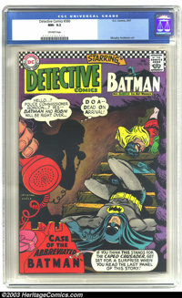 Detective Comics #360 (DC, 1967) CGC NM- 9.2 Off-white pages. Carmine Infantino cover, Murphy Anderson art. There are cu...