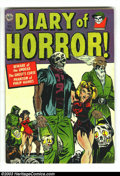 Golden Age (1938-1955):Horror, Diary of Horror #1 (Avon, 1952) Condition: VG/FN. Bondage cover.Hollingsworth cover and art. Overstreet 2003 VG 4.0 value =...