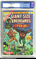 Bronze Age (1970-1979):Horror, Giant-Size Creatures #1 (Marvel, 1974) CGC NM 9.4 Off-white pages.First appearance of Tigra. Don Perlin art. Werewolf by Ni...
