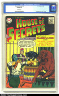 Silver Age (1956-1969):Horror, House of Secrets #2 (DC, 1957) CGC VG/FN 5.0 Off-white pages. Thisearly issue isn't one that turns up too often; CGC curren...