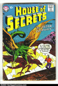 Silver Age (1956-1969):Horror, House of Secrets #9 (DC, 1958) Condition: GD+. Overstreet 2003 GD2.0 value = $17....