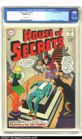 Silver Age (1956-1969):Mystery, House of Secrets #60 (DC, 1963) CGC VF/NM 9.0 Off-white pages. MortMeskin and Bill Ely art. There are currently only two co...