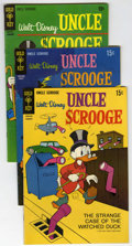 Bronze Age (1970-1979):Cartoon Character, Uncle Scrooge Group (Various, 1969-93) Condition: Average FN/VF....(Total: 10 Comic Books)