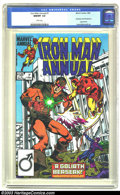 Iron Man Annual #7 (Marvel, 1984) CGC NM/MT 9.8 White pages. Hawkeye and Wonderman appearance. Luke McDonnell art. Overs...