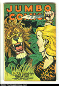 Golden Age (1938-1955):Adventure, Jumbo Comics #100 (Fiction House, 1947) Condition: VG. Matt Baker, Jack Kamen art. Overstreet 2003 VG 4.0 value = $48....