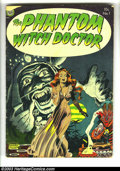 Golden Age (1938-1955):Horror, The Phantom Witch Doctor #1 (Avon, 1952) Condition: GD+. EverettRaymond Kinstler. Overstreet 2003 GD 2.0 value = $46. ...