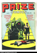 Golden Age (1938-1955):Adventure, Prize Comics #58 (Prize, 1946) Condition: FN. Overstreet 2003 FN 6.0 value = $42....
