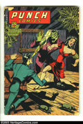 Golden Age (1938-1955):Superhero, Punch Comics #15 (Chesler, 1945) Condition: GD. Overstreet 2003 GD 2.0 value = $55....