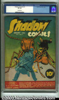Golden Age (1938-1955):Crime, Shadow Comics V2#2 (Street & Smith, 1942) CGC FN 6.0 Off-white pages. Giant ant cover. Dead End Kids story. The Overstreet P...