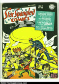 Golden Age (1938-1955):Superhero, Star Spangled Comics #20 (DC, 1943) Condition: VG+. Joe Simon and Jack Kirby cover and art. Liberty Belle begins. Guardian a...