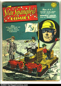 Golden Age (1938-1955):Superhero, Star Spangled Comics #21 (DC, 1943) Condition: GD/VG. Joe Simon and Jack Kirby cover and art. Guardian and Newsboy Legion. L...