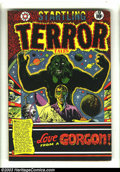 Golden Age (1938-1955):Horror, Startling Terror Tales #13 (Star Publications, 1952) Condition:GD/VG. L. B. Cole cover. Jay Disbrow art. Jo-Jo reprint. Loo...