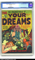 Golden Age (1938-1955):Horror, Strange World of Your Dreams #2 (Prize, 1952) CGC FN- 5.5 Off-whitepages. Mort Meskin, Joe Simon, and Jack Kirby art. There...