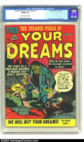 Golden Age (1938-1955):Science Fiction, Strange World of Your Dreams #4 (Prize, 1953) CGC VG/FN 5.0 Creamto off-white pages. Simon and Kirby cover, Mort Meskin art...
